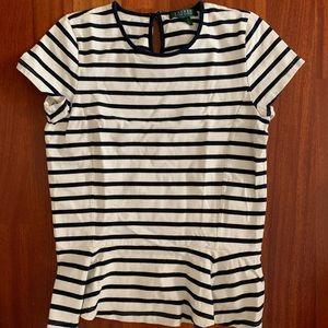 LAUREN Ralph Lauren Striped Crewneck Shirt